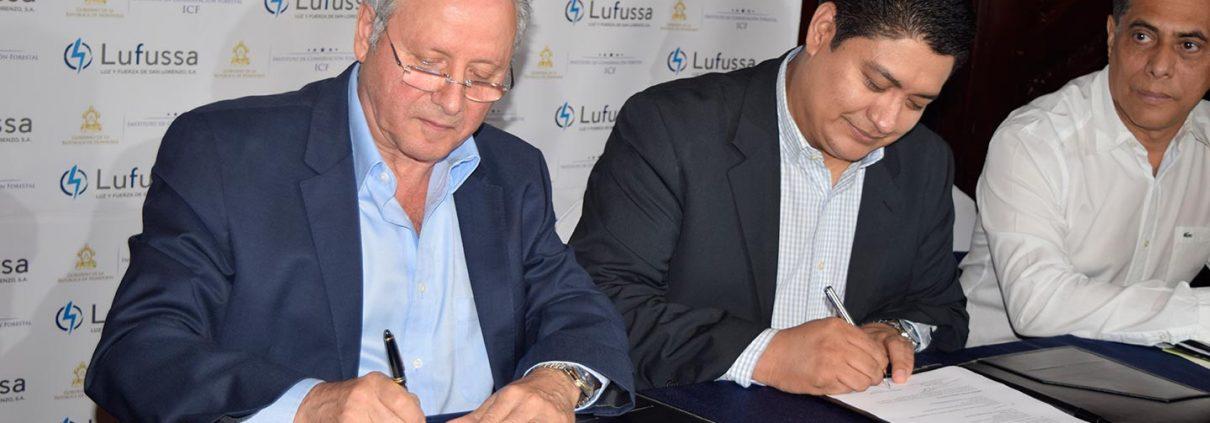 icf-y-lufussa-firman-convenio-de-cooperacion-para-plantar-un-millon-de-arboles