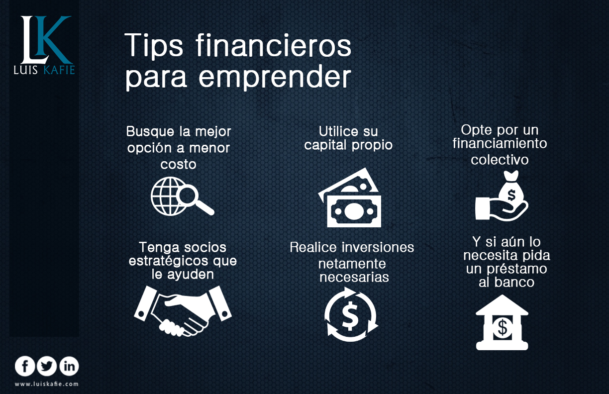 tips financieros para emprender