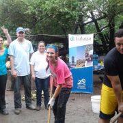 Lufussa y Honduras Outreach llevan ayuda social a comunidades de la zona sur